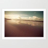 zandvoort beach Art Print