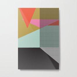 Farbe//One Metal Print
