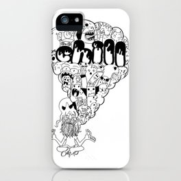 Chill doodlee iPhone Case