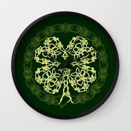 Celtic Carolans Wall Clock