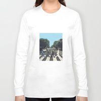 potter Long Sleeve T-shirts featuring Potter Road by alboradas