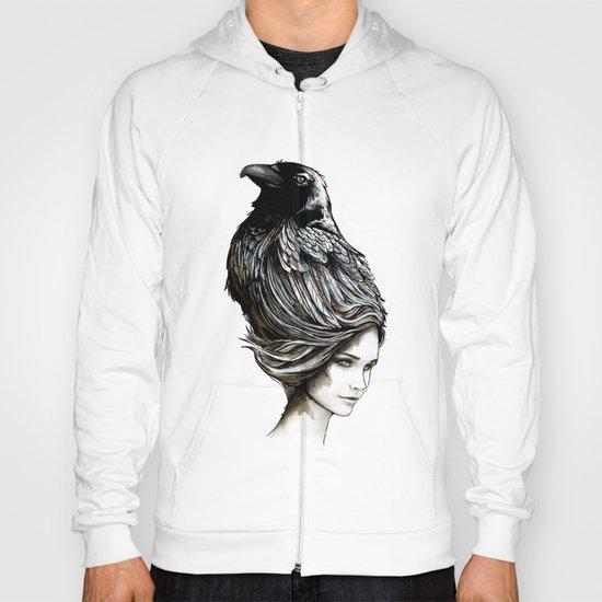 Raven Haired Hoody