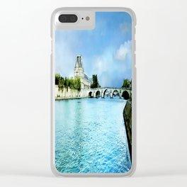 Seine River - Paris France Clear iPhone Case