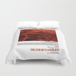 Movie Poster: The End of Evangelion v2 Duvet Cover