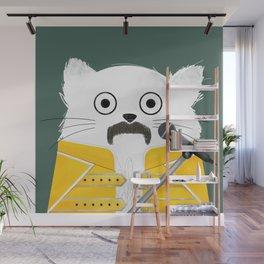 Cat Freddie Wall Mural