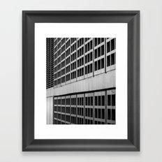 Urban Geometry Framed Art Print