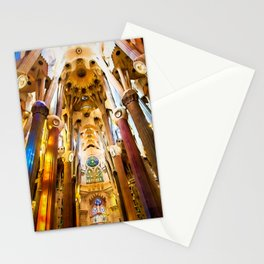 Sagrada Familia Art Work Stationery Cards