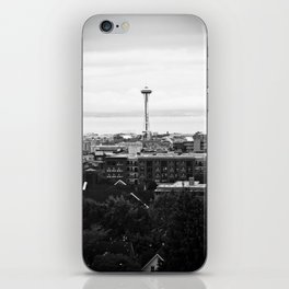 Dear Space Needle, I miss you. iPhone Skin