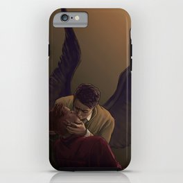 A Kiss iPhone Case