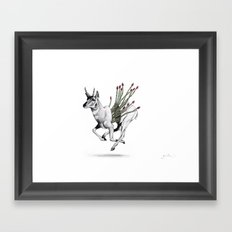 Pronghorn Framed Art Print