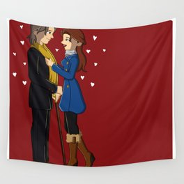 RxB hearts Wall Tapestry