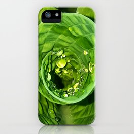 Spiral Drops iPhone Case