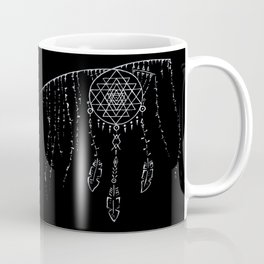 Shri Yantra / Dream Catcher Coffee Mug