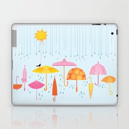 Pretty Parasols for Precipitation LineUp Laptop & iPad Skin