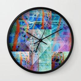 Fluids Wall Clock
