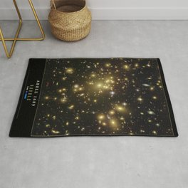 NASA Hubble Space Telescope Poster - Abell 1689 Rug
