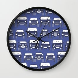Old Russian cars Wall Clock