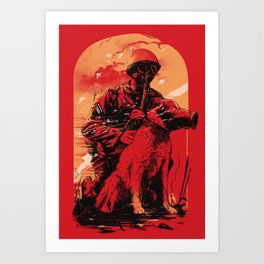 Dogs Of War Art Print