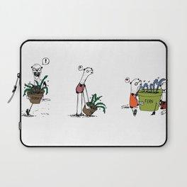 Bear and Weasel: The Love Fern Laptop Sleeve