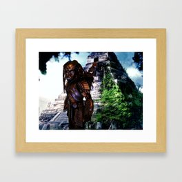 Celtic Predator Framed Art Print