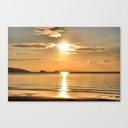 Thatcher Rock Sunrise Canvas Print