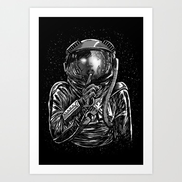 Secrets of Space 2017 Art Print