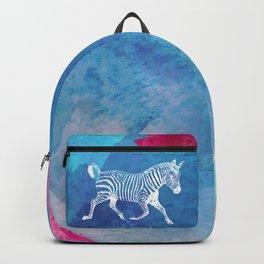 Color Spot Safari Zebra Backpack