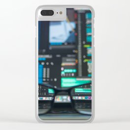 Program Clear iPhone Case