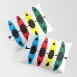 Four Kayaks   DopeyArt Pillow Sham