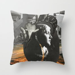 Eternal Goddess Throw Pillow