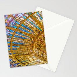 Barcelona, Spain. Palau de la musica catalana, seiling Stationery Cards