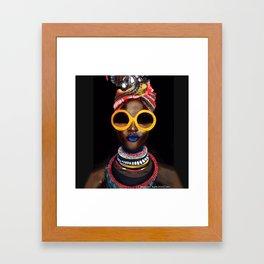 'Black Gold' Framed Art Print