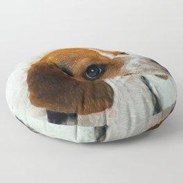 Beagle Floor Pillow
