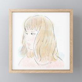 Girl No.2 Framed Mini Art Print