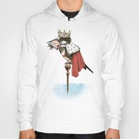 king Hoodies featuring King Fisher by Eric Fan