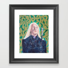 Lucius Malfoy Framed Art Print