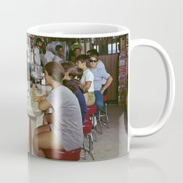 All Star Motel Coffee Shop in Wildwood, New Jersey. 1960's photograph Coffee Mug