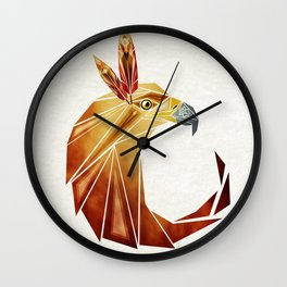 eagle cercle Wall Clock