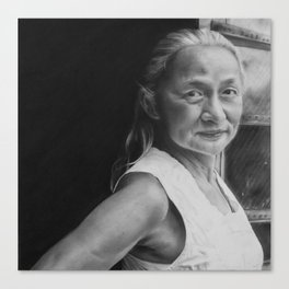 4: Rhinoceros Women Series Canvas Print