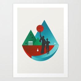 Lebanon Art Print
