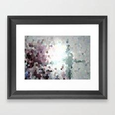 Hex Dust 1 Framed Art Print