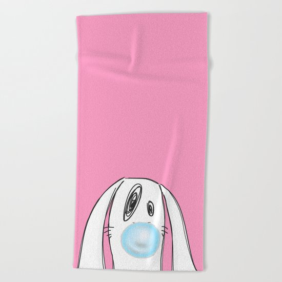 Bubble Gum #2 Beach Towel
