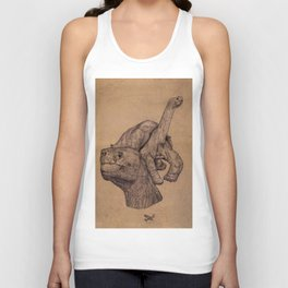 Lonely George  Unisex Tank Top
