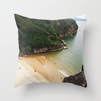 heaven Throw Pillows featuring Heaven by Mimy