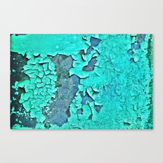 aqua paint Canvas Print