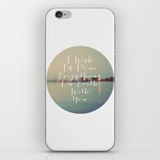 Everything On Earth iPhone & iPod Skin
