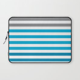 Stripes Gradient - Blue Laptop Sleeve