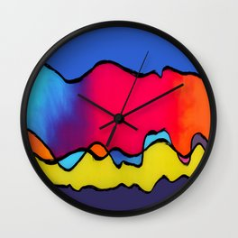 CALIFORNIA WAVE Wall Clock