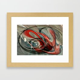 Kui Xing Framed Art Print
