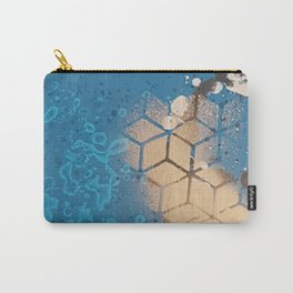 Cube Familiar Place - Made With Unicorn Dust by Natasha Dahdaleh Carry-All Pouch